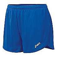 Womens ASICS Rival II 1/2 Split Unlined Shorts