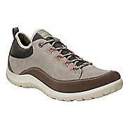 Womens Ecco Aspina Low Casual Shoe - Dark Clay 8.5