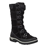 Womens Ecco Gora Tall Boot Casual Shoe - Black 36