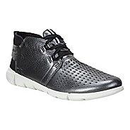 Womens Ecco Intrinsic Chukka Casual Shoe - Dark Shadow Metallic 10.5