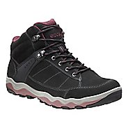 Womens Ecco Ulterra High GTX Hiking Shoe - Black/Morillo 7.5