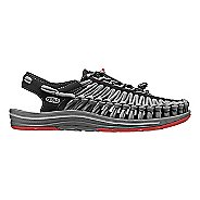 Mens KEEN Uneek Flat Casual Shoe - Black Bossa 11