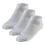 R-Gear Unstoppable Thin Cushion Low Cut 3 pack Socks - White S