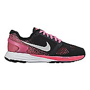 Kids Nike LunarGlide 7 Running Shoe - Black/Pink 5Y