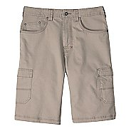 Mens prAna Murray Relaxed Fit Unlined Shorts - Dark Khaki 30