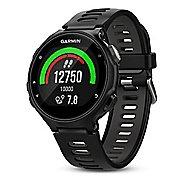 Garmin Forerunner 735XT GPS Running Watch + Wrist HRM Monitors - Black/Grey