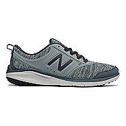 Womens New Balance 85v1 Walking Shoe - Grey/Green 7.5