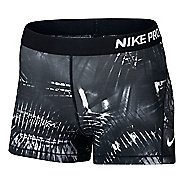 "Womens Nike Pro Cool 3"" Notebook Compression & Fitted Shorts"
