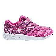Kids Saucony Baby Ride Running Shoe - Pink/Berry 10.5C