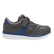 Kids Saucony Baby Jazz Lite Casual Shoe - Grey/Blue 7C