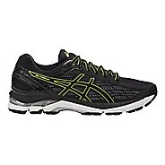 Mens ASICS GEL-Pursue 3 Running Shoe - Black/Green 8