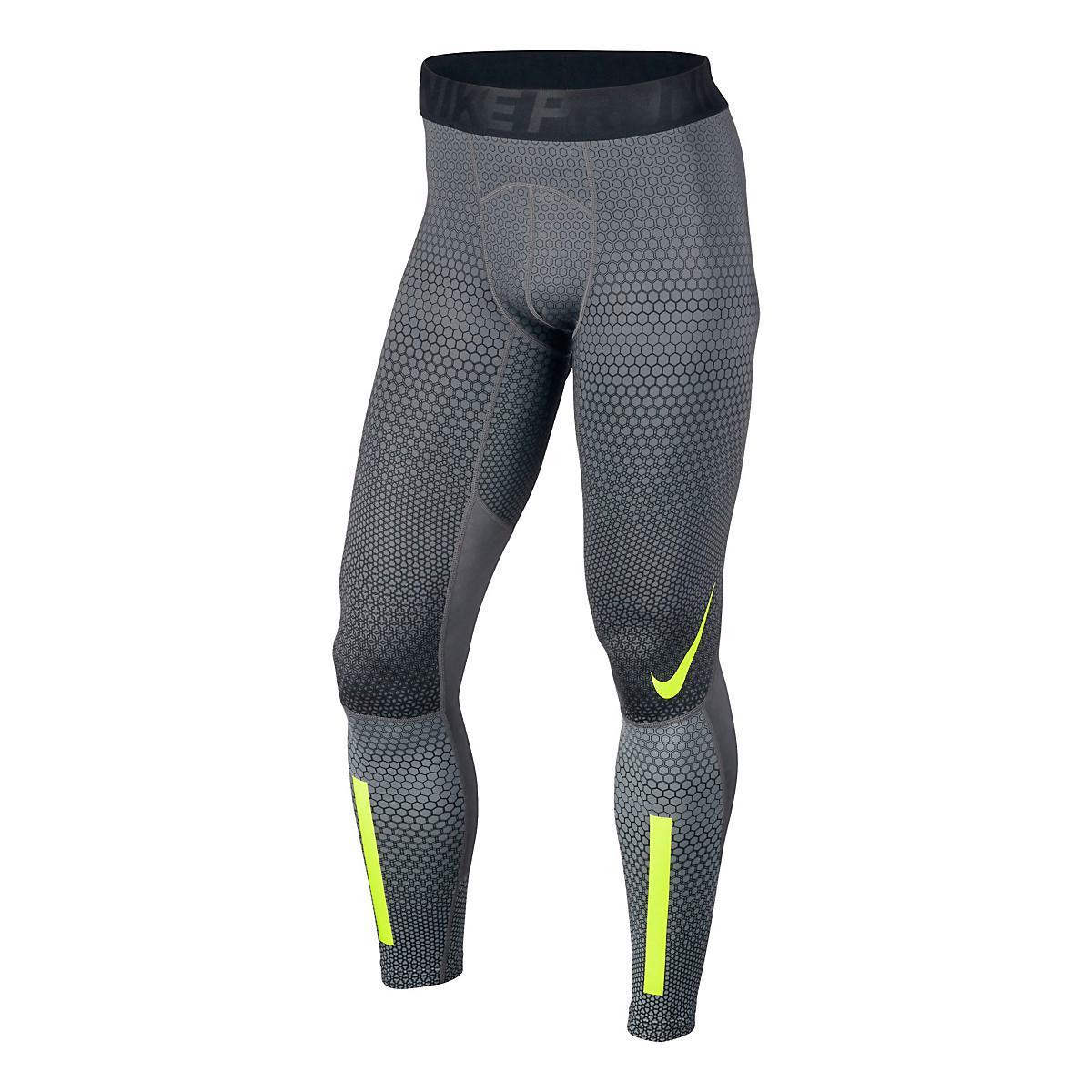 d21c614ddb6b6 Mens Nike Pro Hyperwarm Hexodrome Tights & Leggings at Road Runner Sports