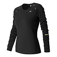 Womens New Balance NB Ice Long Sleeve Technical Tops