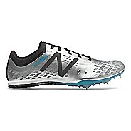 Mens New Balance MD800v5 Track and Field Shoe - Silver/Black 8