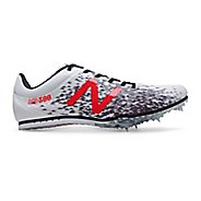 Mens New Balance MD500v5 Track and Field Shoe - White/Black 12.5