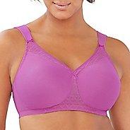 Womens Glamorise T-Shirt Bra with Seamless Straps D/DD/F/G Everyday Bras - Rose 42D