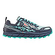 Womens Altra Lone Peak 3 Polartec NeoShell Trail Running Shoe - Grey/Blue 12