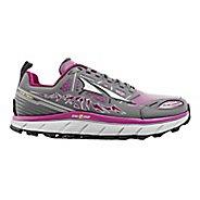Womens Altra Lone Peak 3 Polartec NeoShell Trail Running Shoe - Grey/Purple 9.5
