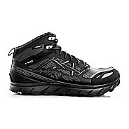 Mens Altra Lone Peak 3 Mid Polartec NeoShell Trail Running Shoe - Black 15