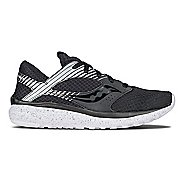 Womens Saucony Kineta Relay Reflex Casual Shoe - Black/Silver 8.5