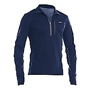 Mens Altra Performance Half-Zips & Hoodies Technical Tops - Navy S