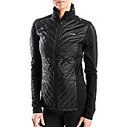 Womens Altra Performance Full Zip Zoned Heat Running Jackets