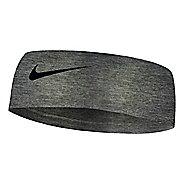 Womens Nike Fury Headband 2.0 Headwear - Charcoal Heather