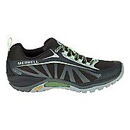 Womens Merrell Siren Edge Waterproof Hiking Shoe - Black/Paradise 6