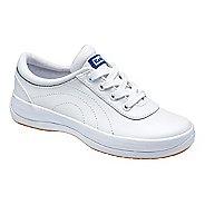 Kids Keds School Days II Walking Shoe - White Leather 1.5Y