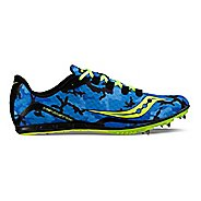 Saucony Vendetta Track and Field Shoe - Blue/Citron 13