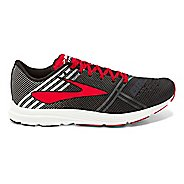 Mens Brooks Hyperion Racing Shoe - Black/White/Red 9