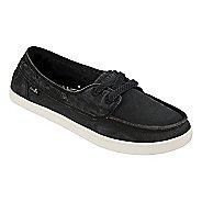 Womens Sanuk Pair O Sail Casual Shoe - Washed Black 6