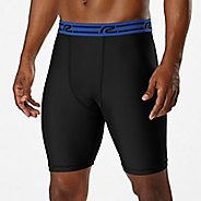 "Mens Road Runner Sports Energy Boost 8"" Compression Short Boxer Brief Underwear Bottoms"