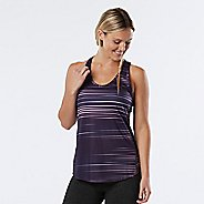 Womens R-Gear Fast and Fab Printed Singlet Sleeveless & Tank Technical Tops - Let's Jam Stripe XS