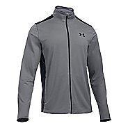 Mens Under Armour Maverick Running Jackets - Graphite/Black XL
