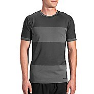Mens Brooks Streaker Short Sleeve Technical Tops - Asphalt M