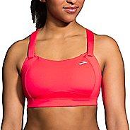 Womens Brooks Juno Sports Bra - Race Pink 38DD