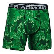 Mens Under Armour Original 6'' BoxerJock Print (Hanging) Boxer Brief Underwear Bottoms - Forest ...