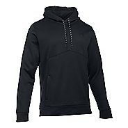 Mens Under Storm Armour Fleece Half-Zips & Hoodies Technical Tops
