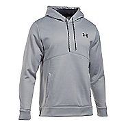 Mens Under Armour Storm Fleece Half-Zips and Hoodies Technical Tops