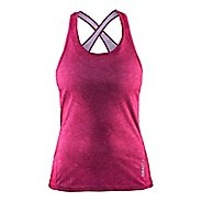 Womens Craft Mind Singlet Sleeveless & Tank Technical Tops
