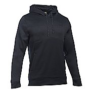 Mens Under Armour Storm Fleece Twist Half-Zips and Hoodies Technical Tops