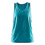 Womens Craft Pure Light Sleeveless & Tank Technical Tops - Drop Melange/Drop XS