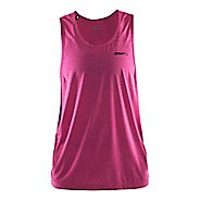 Womens Craft Pure Light Sleeveless & Tank Technical Tops - Smoothie/Black XS