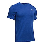 Mens Under Armour Streaker V-Neck Short Sleeve Technical Tops