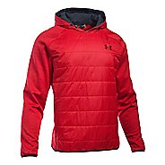 Mens Under Armour Swacket Insulated Popover Hoodie & Sweatshirts Technical Tops