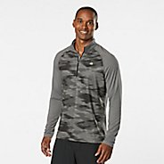 Mens Road Runner Sports In The Zone Printed Half-Zips & Hoodies Technical Tops