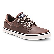 Kids Sperry Ollie Leather Casual Shoe - Brown 4.5Y