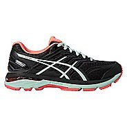 Womens ASICS GT-2000 5 Running Shoe - Black/Mint 7