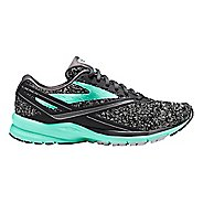 Womens Brooks Launch 4 Running Shoe - Black/Turquoise 6